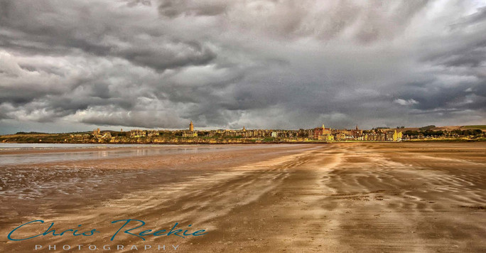 The moods of the West Sands