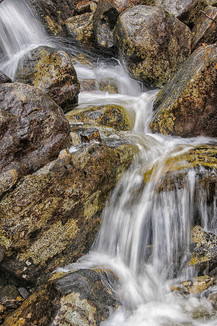Waterfall on Knoydart