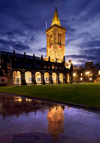 Evening at St Salvator's