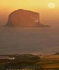 Bass Rock sunrise