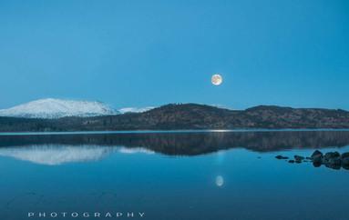 Loch Rannoch by Moonlight