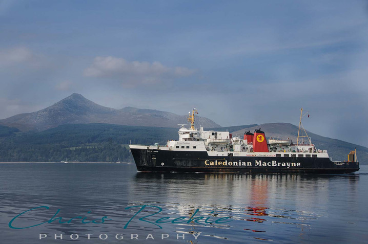 Goatfell and Arran Ferry