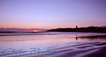 West Sands Winter sunrise