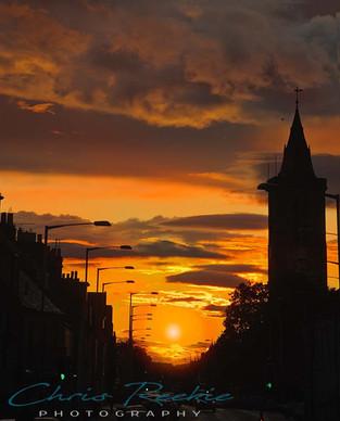 Sundown on North St
