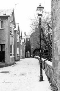 Baker's Lane in Winter