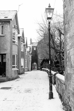 Baker's Lane in Winter