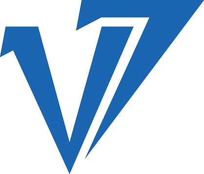 v7 Martial Arts logo, designed by Hannah Kroese, HK Creative, graphic designer in Moscow Idaho