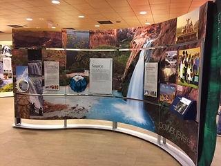 Smithsonian Water/Ways exhibit installation