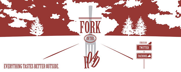 Fork in the Road vehicle wrap concept, designed by Hannah Kroese, HK Creative, graphic designer in Moscow Idaho