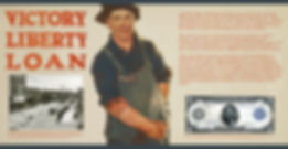 World War I exhibit panel created for the Latah County Historical Society,designed by Hannah Kroese, HK Creative, graphic designer in Moscow Idaho