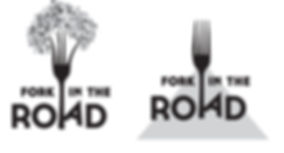 Fork in the Road logo concepts, designed by Hannah Kroese, HK Creative, graphic designer in Moscow Idaho
