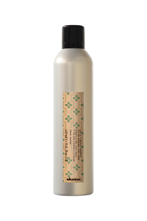 This is a Medium Hold Hairspray