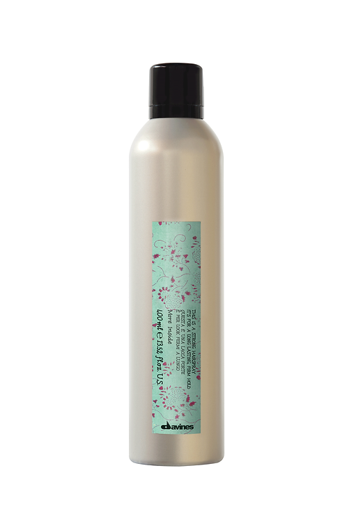 This is a Strong Hold Hairspray