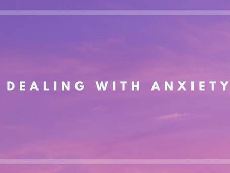 Controlling Anxiety in Uncertain Times
