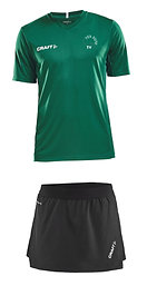 Dames Heb Durf Club Tenue - Luxe Skirt