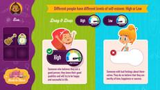 High Self Esteem vs. Low Self Esteem