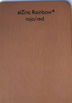 эльцинк red, elZinc rainbow red, edeldach