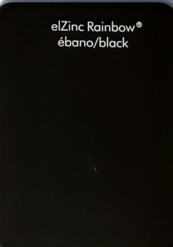 эльцинк black, elZinc rainbow black, edeldach