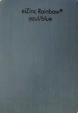 эльцинк blue, elZinc rainbow blue, edeldach