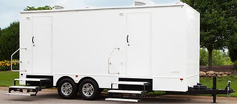 Luxury Restroom Trailer Rental