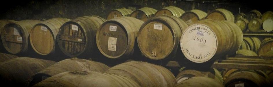 whisky casks Islay distillery
