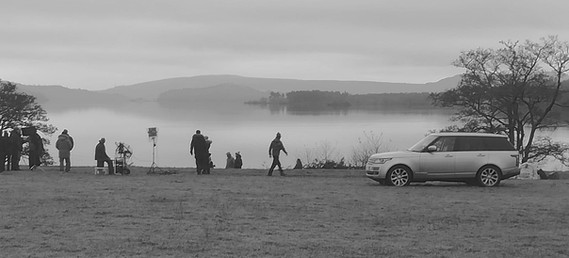 Range Rover at Loch Lomond