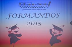 Formatura - 2015