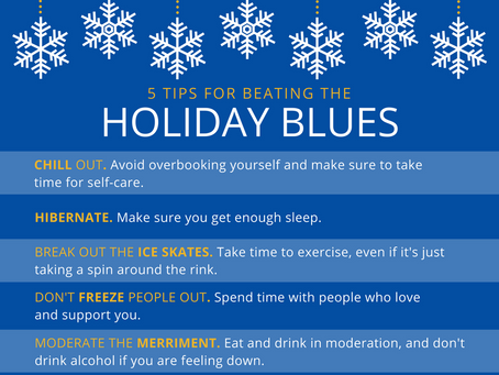 5 Tips for Beating Holiday Blues