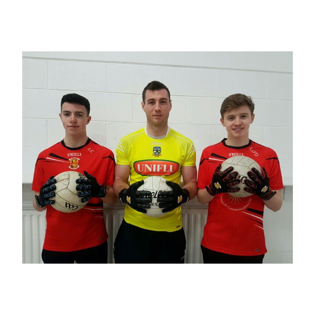 Leo Corry, Mr James Toher & Andrew O'Dwyer (Get A Grip Gloves)