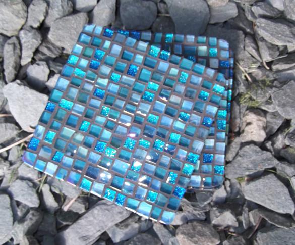 CS18  Blue Glitter Mini Squares  £11 Each