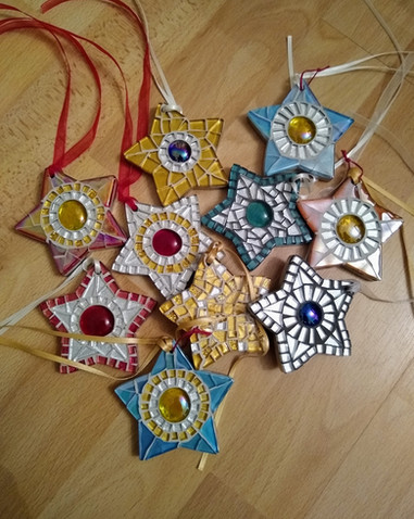Small Chunky Stars  (Various Colours) £9 Each