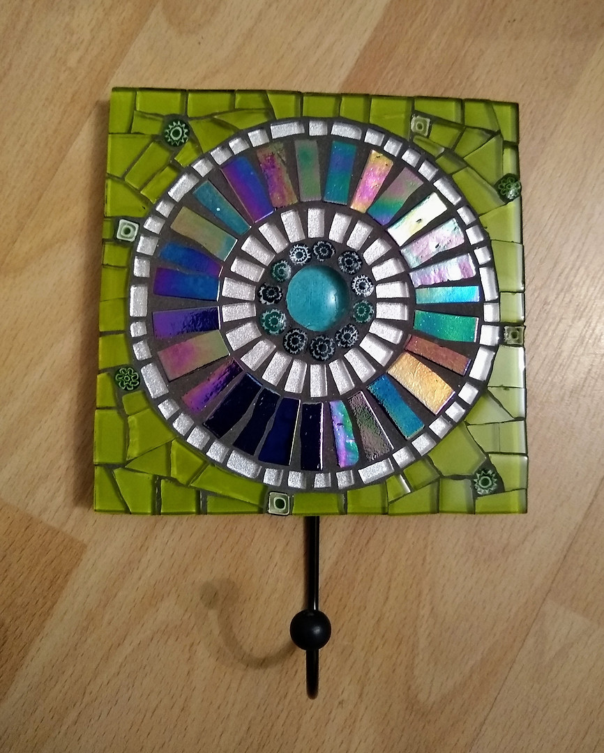 WH33 Wall Hook - Blue Mandala