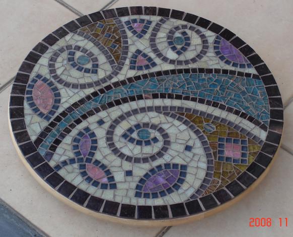 LS9  Brown/Blue Swirls  £120
