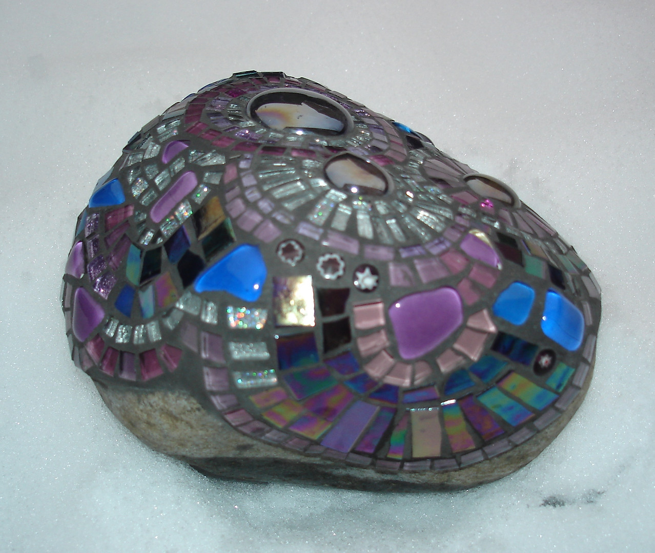 R9 Large Purples Abstract (side view)