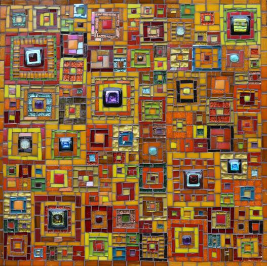 MU22 Jewel Squares Quilt