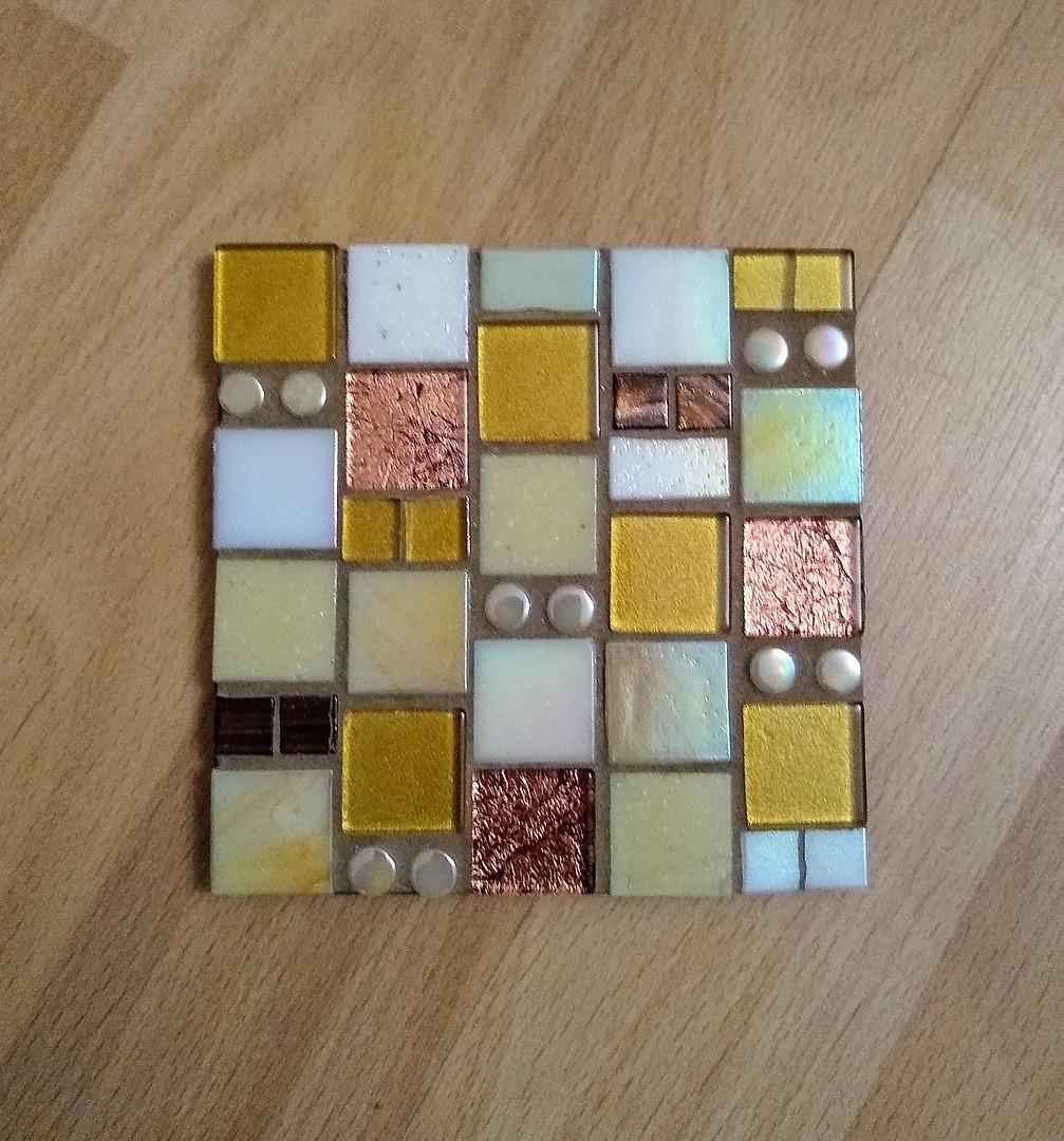 CS28 Gold/White Squares  £11 Each