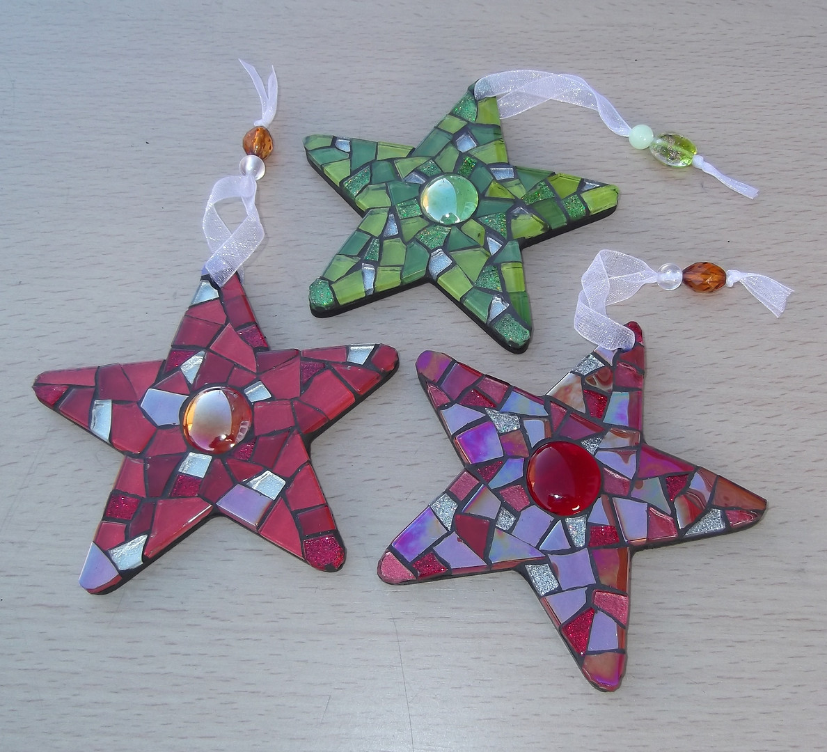 MS19 Medium Mosaic Stars (Various Colours) £12 Each