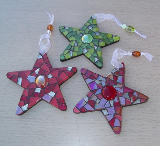 MS19 Medium Mosaic Stars (Various Colours) £12 Each