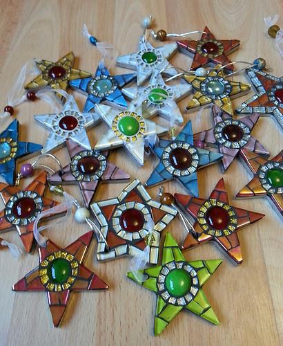 Small Mosaic Stars (Various Prices)
