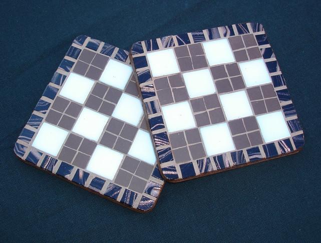 CS37  Checkerboard Brown £10 each