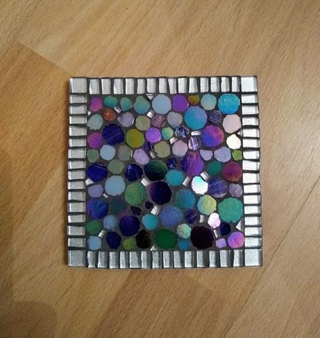 CS30 Silver/ Blues Circles  £12 Each