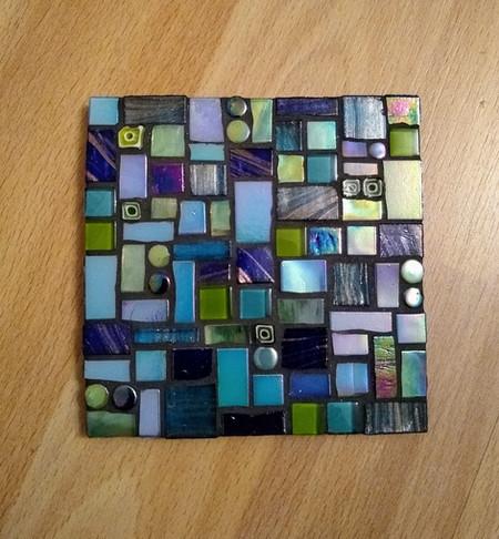 CS22  Blues Abstract Dark  £12 Each