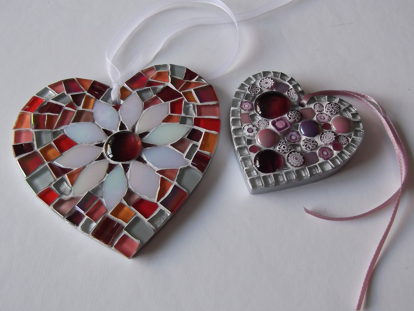 Commissioned hearts  £22 Large £12 Small