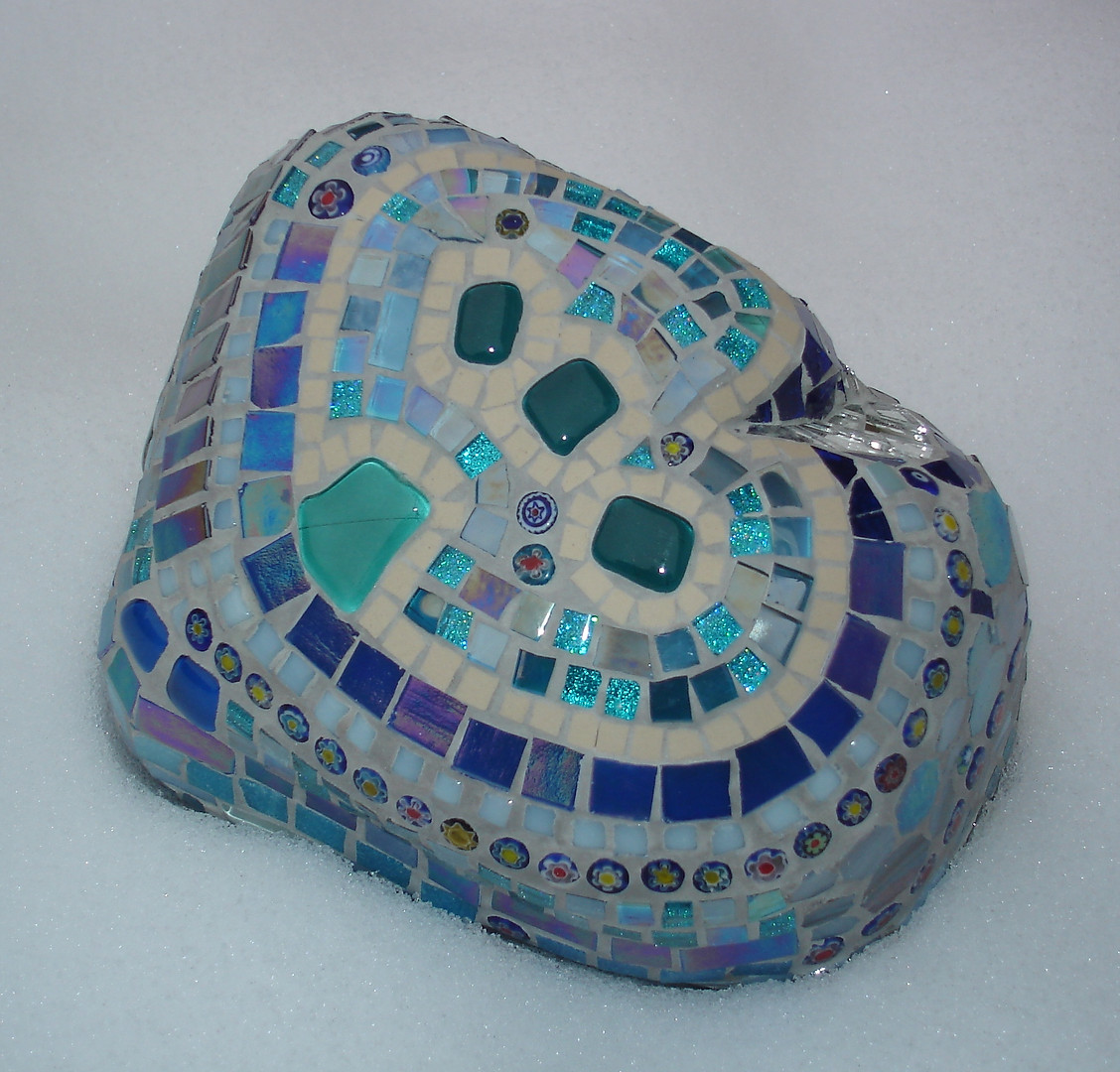 R12 Large Blues Abstract  £55 - £60