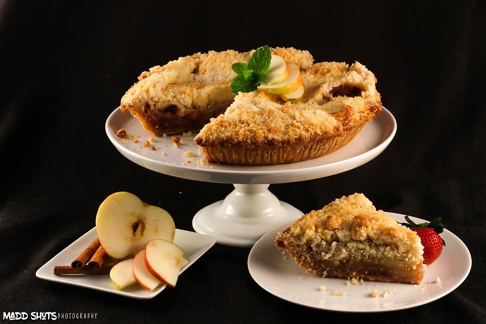 Maddalena's Apple Crumb Pie
