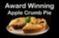 Maddalenas Award Winning Apple Crumb Pie