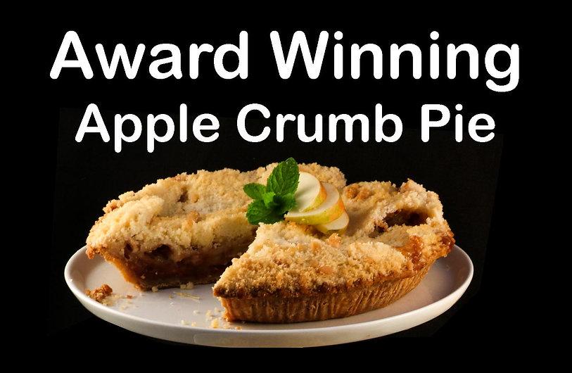 Maddalenas Award Winning Apple Crumb Pie