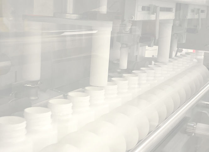 Bottle packaging line used for solid oral dose pharmaceutical, nutraceutical and OTC drugs