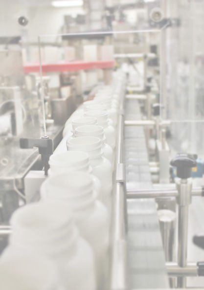 Pharmaceutical solid oral dose bottle packaging line at Apace Packaging
