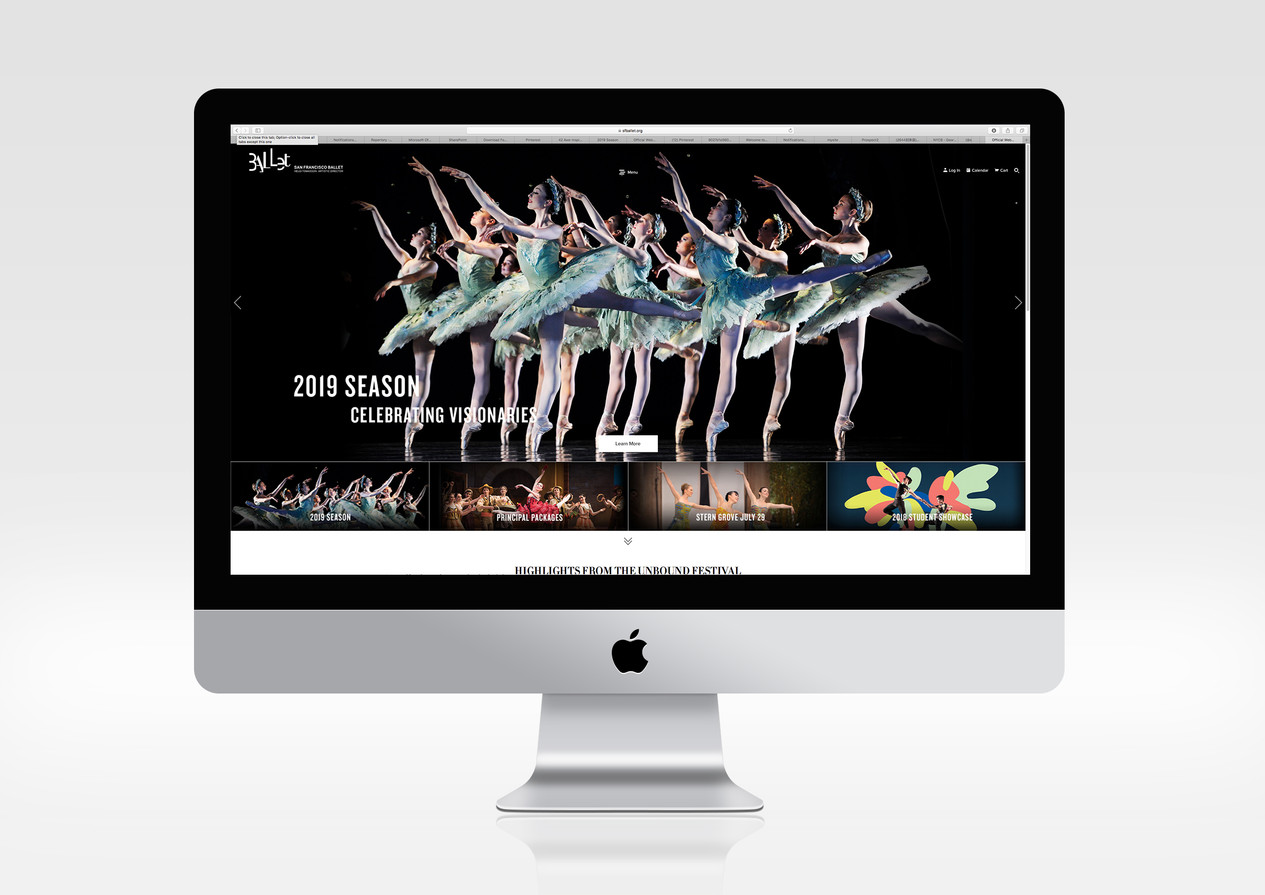 SF Ballet Web Design 01